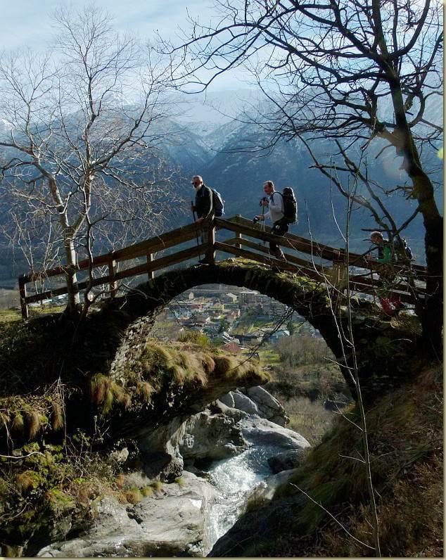 Alpe basciot e dintorni for Ponte intorno alla casa