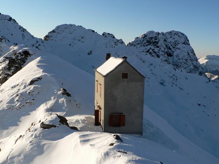 Alcune Immagini Dalla Bocchetta Di Campo In Inverno